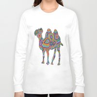 camel Long Sleeve T-shirts featuring Camel  by Shanaabird