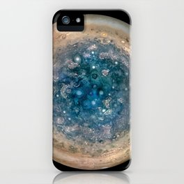 1183. Jupiter Southern Storms iPhone Case