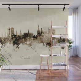 Dundee Scotland Skyline Wall Mural