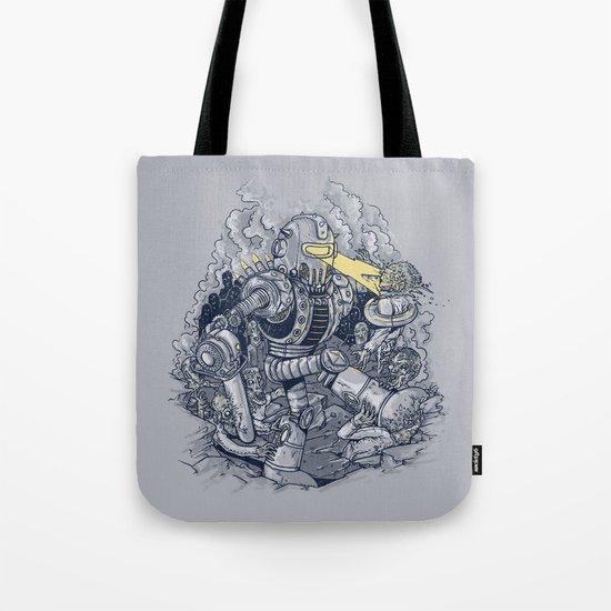 Zombie Exterminator Tote Bag