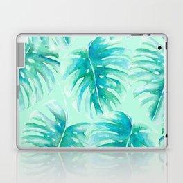 Paradise Palms Mint Laptop & iPad Skin