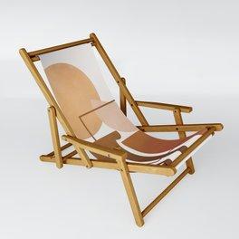 Modern Abstract Art 51 Sling Chair