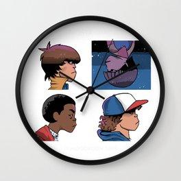stranger nostalgiaz Wall Clock