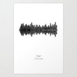 Perth Art Print