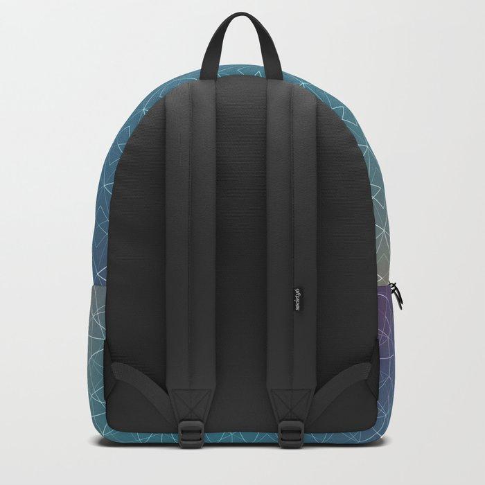 Blurred Geometry Backpack