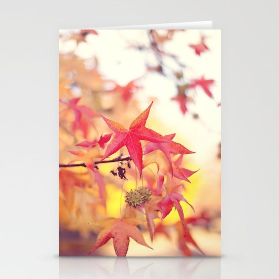 Forever Fall  Stationery Cards