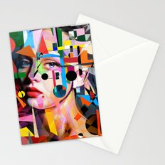SHE LOVES COLORS Stationery Cards