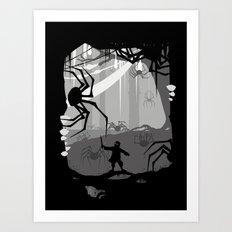 The Little Limbbit Art Print
