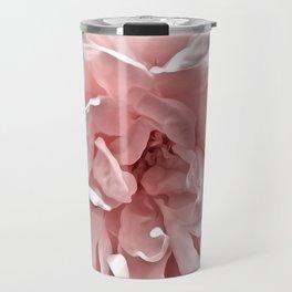 Pink Blush Rose Travel Mug