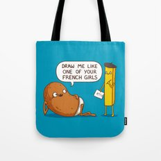 French Potato Tote Bag