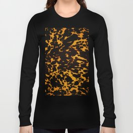 Art Deco polished Tortoise Shell Long Sleeve T-shirt