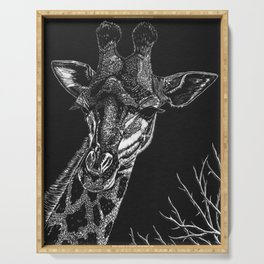 Giraffe Serving Tray