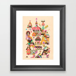 Structura 4 Framed Art Print