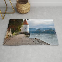 Stroll Along the Danube in Passau Rug