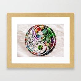 Yin and Yang Balance Poster Print by Robert R Framed Art Print