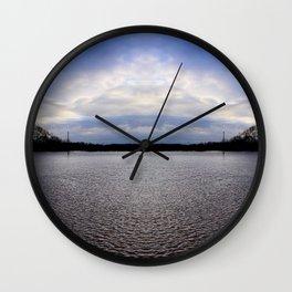 River Avon Flood Wall Clock