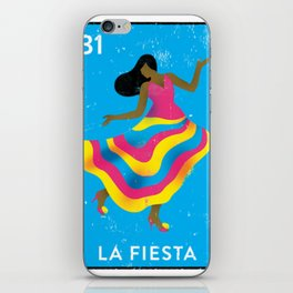 The Party Mexican Loteria Bingo Card iPhone Skin