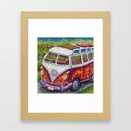 Happy Memories Framed Art Print