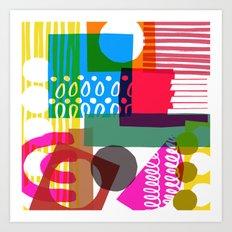Pattern One Art Print