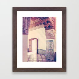 Light Streams in Marrakech Fine Art Print Framed Art Print