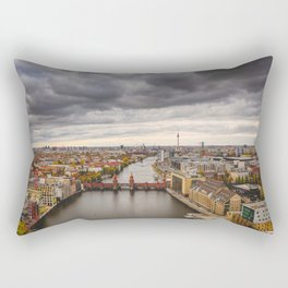 Berlin Oberbaumbrücke Rectangular Pillow