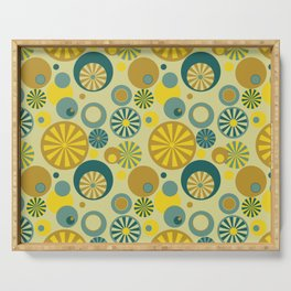 Circle Frenzy - Yellow Serving Tray