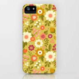 Magical Flower Garden iPhone Case