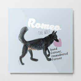 Romeothewolf #2 Metal Print