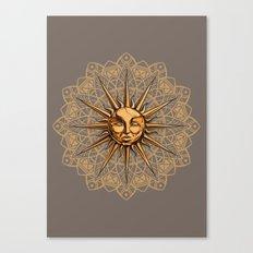 Golden: Radiance  Canvas Print