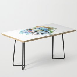 Animal painting Coffee Table