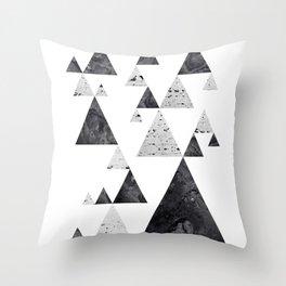 Pyramid Valley Throw Pillow