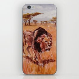 LION      by Kay Lipton iPhone Skin