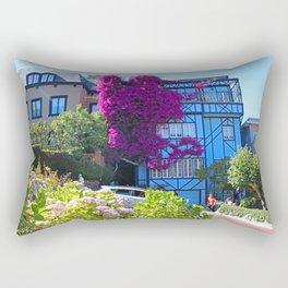 Lombard Street Rectangular Pillow