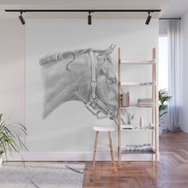 Horse Portrait Wall Mural