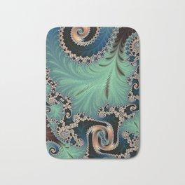 Azure - Fractal Art Bath Mat