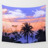 thailand Wall Tapestries featuring thailand by mark ashkenazi