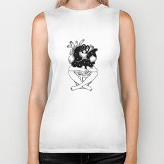 You melt my heart Biker Tank