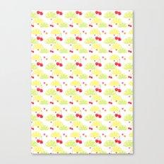 summer fruit cocktail Canvas Print