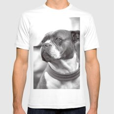DOG Mens Fitted Tee White MEDIUM