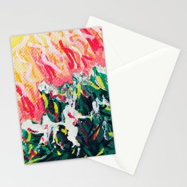 Funky Forest Stationery Cards