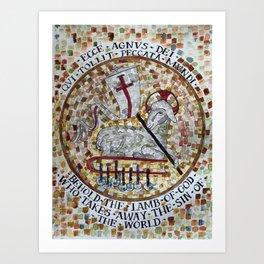 Agnus Dei Lamb of God Art Print