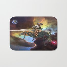 Space Cowboy Bath Mat