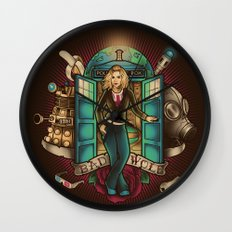 I am the Bad Wolf Wall Clock