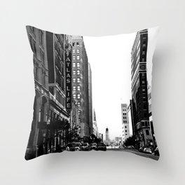 Downtown Tulsa  Throw Pillow
