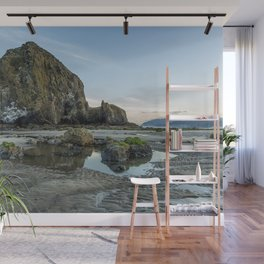 Morning at Cannon Beach Wall Mural