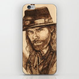 Hell on Wheels Inspired, Mr. Bohannon iPhone Skin