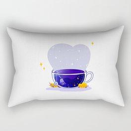 Universe Tea Bag Rectangular Pillow