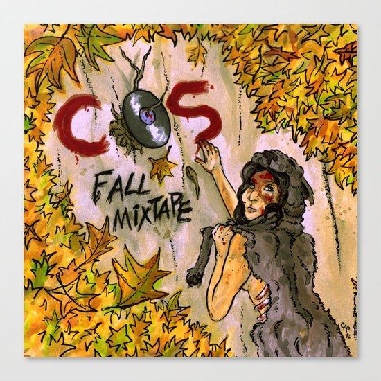 """""""Fall Mixtape"""" by Cap Blackard Canvas Print"""