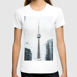 CN Tower on a Rainy Day T-shirt