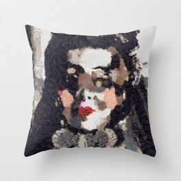 The Dowager Countess Throw Pillow
